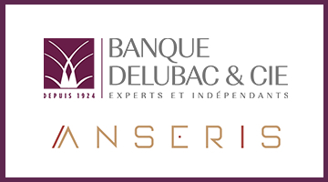 Banque Delubac & Cie and Anseris offer their partners a full range of banking services