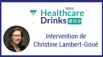 Delubac Corporate & Investment Bank et Paris Healthcare Drinks : Intervention de Christine Lambert-Goué