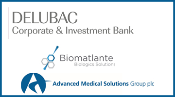 Delubac Corporate & Investment Bank conseille la cession de Biomatlante